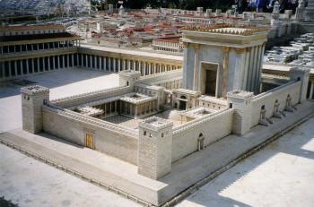 Model of Solomon's Temple in Jerusalem