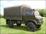 U.S. Military Unimog Troop Carrier