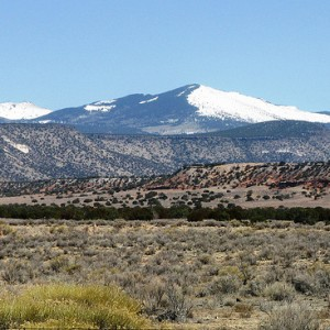 Mount Taylor in New Mexico