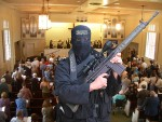Middle Eastern Men with Assault Rifles Attack U.S. Churches