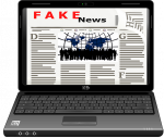 Wikipedia accuses Natural News website of being fake news.