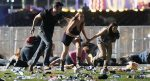 """""""Groups of men with machine guns and hand guns were shooting people who were trying to flee."""""""